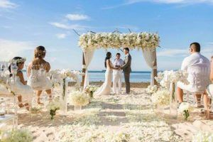 beach wedding Cuba